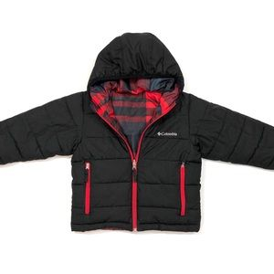 Boys Columbia Reversible Puffer Jacket